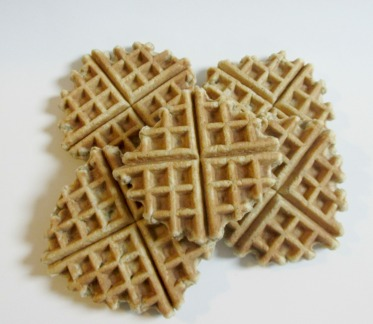 Slices of Sarah Pie- Gluten Free Waffles