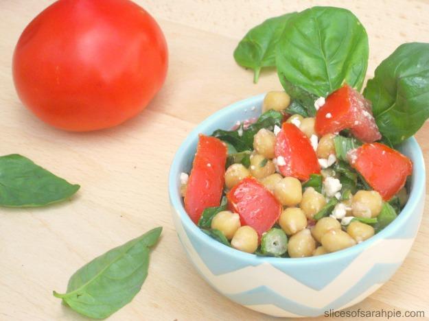 Chickpea Bruschetta Salad 1